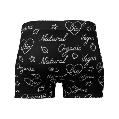 Bio Organic Vegan Vegetarian Health Boxer Briefs Men's Underwear