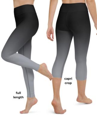 2 Color Gradient Yoga Leggings Hot sexy designer legs red yellow purple pink blue green pants