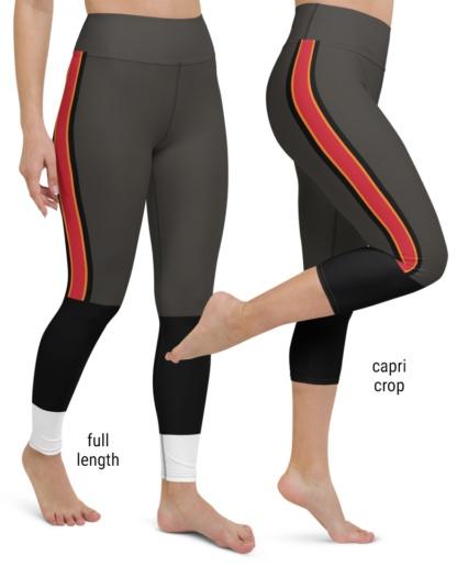 Tampa Bay Buccaneers Football Uniform Yoga Leggings