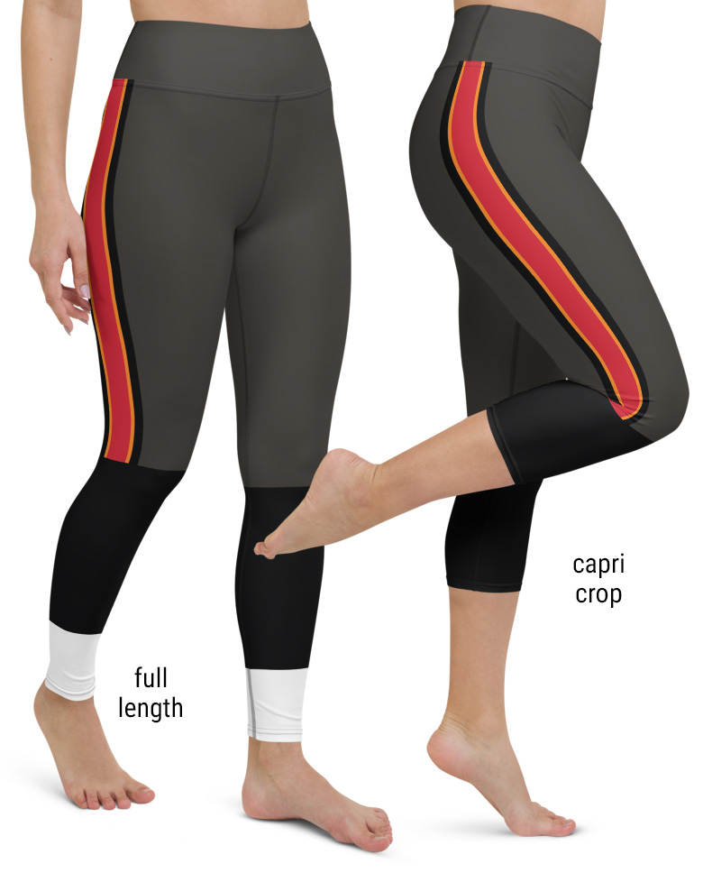 Tampa Bay Buccaneers Football Uniform Yoga Leggings