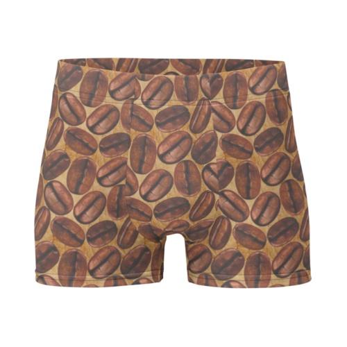 Coffee Bean Boxer Briefs Men's Underwear caffeine
