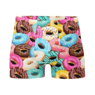 Donut Boxer Briefs Men's Underwear cake sweets