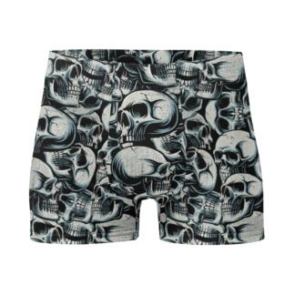 Halloween Catacomb Skull Boxer Briefs Men's Underwear skulls