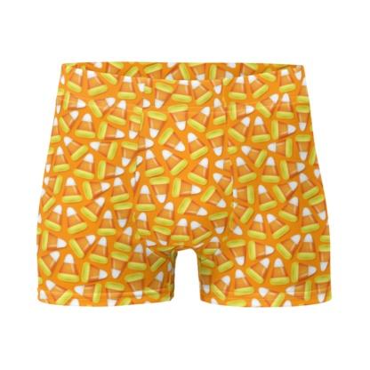 Halloween Candy Corn Boxer Briefs Men's Underwear