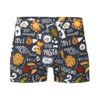 Italian Spaghetti & Pasta Boxer Briefs Men's Underwear
