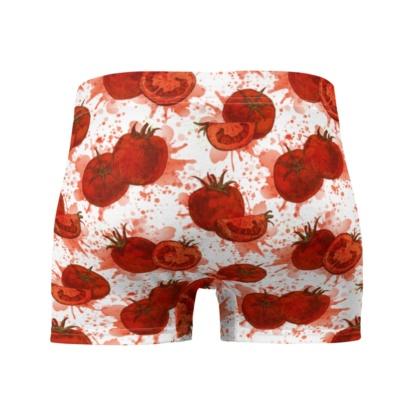 Smashed Red Tomato Boxer Briefs Men's Underwear
