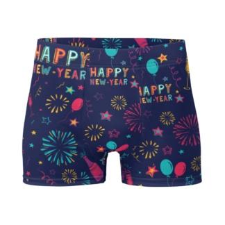 Happy New Years Boxer Briefs Men's Underwear