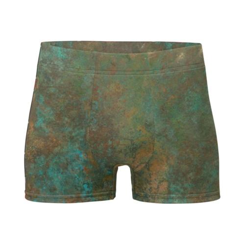Antique Copper Boxer Briefs Men's Underwear Metal