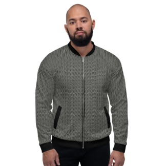 Metal Chainmail Jacket Unisex Bomber Coat