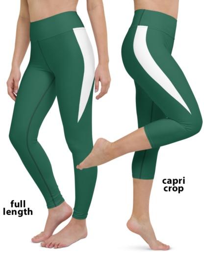 2020 New York Jets Football Uniform Yoga Leggings