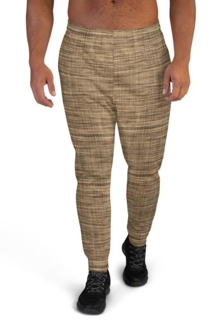 Weaved Linen Joggers for Men