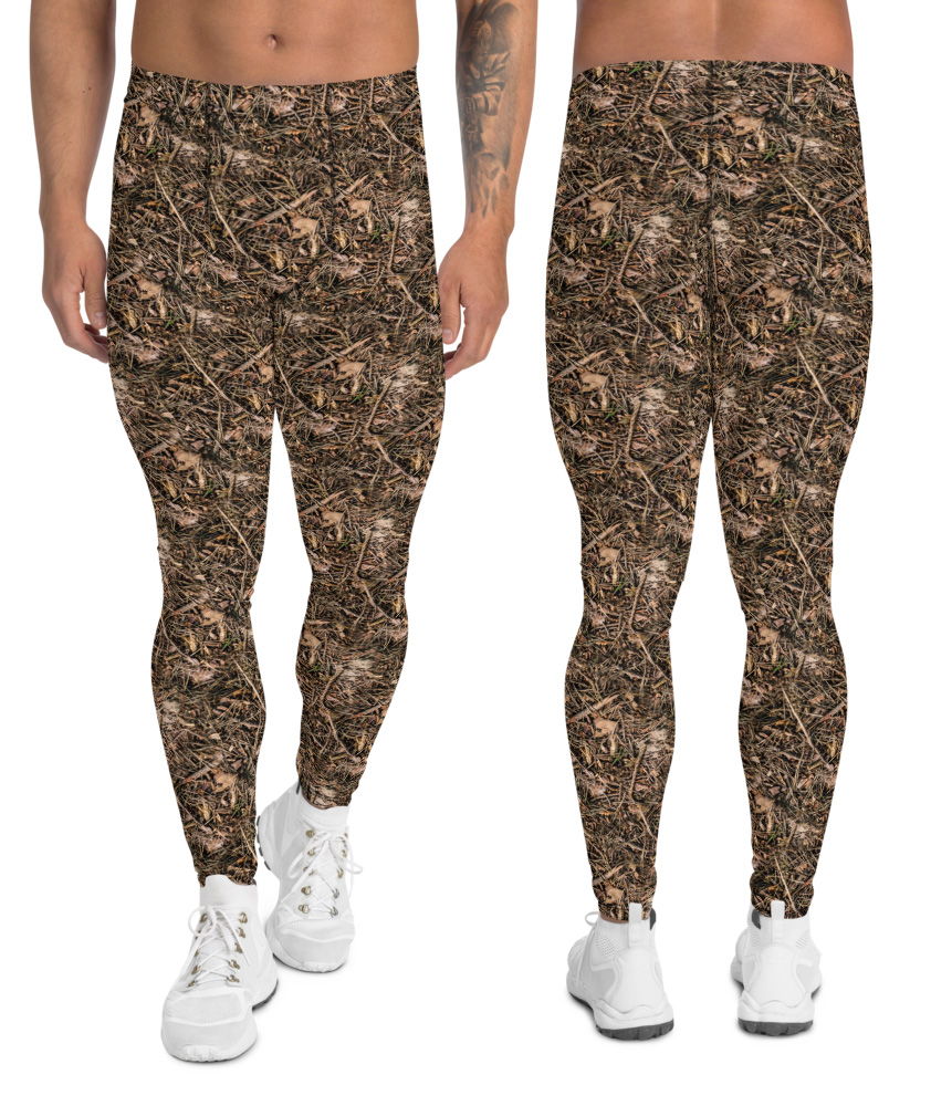 Branches & Twigs Realistic Camouflage Leggings for Men