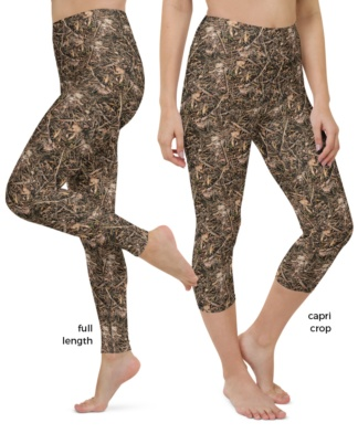 Branches & Twigs Realistic Camouflage Yoga camo Leggings
