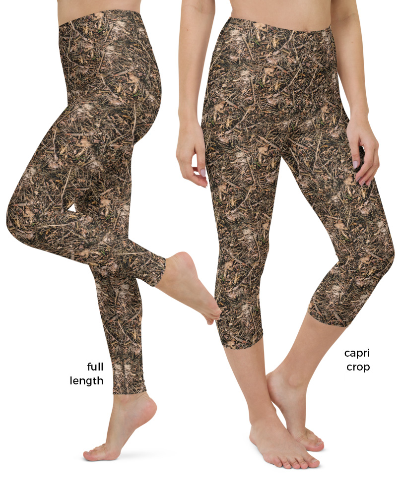 Branches & Twigs Realistic Camouflage Yoga camo Leggings