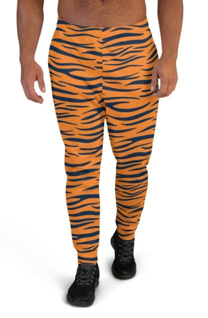 Auburn University Tigers Football Uniform Joggers for Men