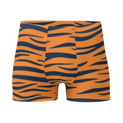 Auburn University Tigers Football Briefs Men's Underwear Tiger Stripes