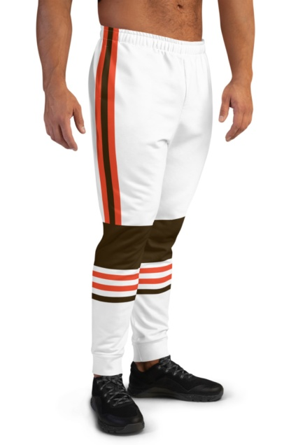 New Cleveland Browns Uniform Football Joggers for Men