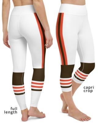 New Cleveland Browns Uniform Football Leggings