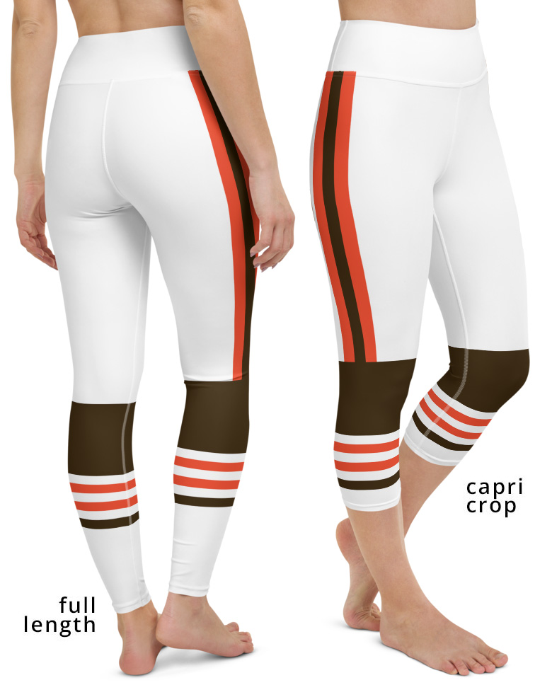 New Cleveland Browns Uniform Football Leggings