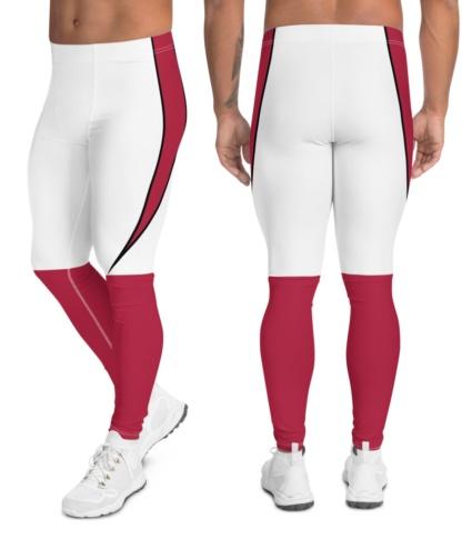 Arizona Cardinals Uniform Football Leggings for Men