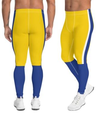 Los Angeles Rams Uniform Football Leggings for Men